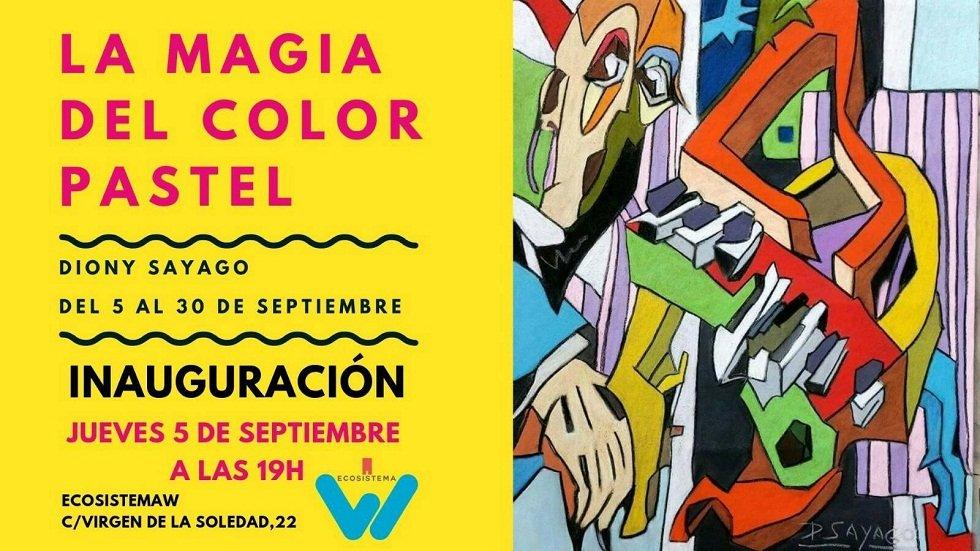 Exposición 'La Magia del Color Pastel'