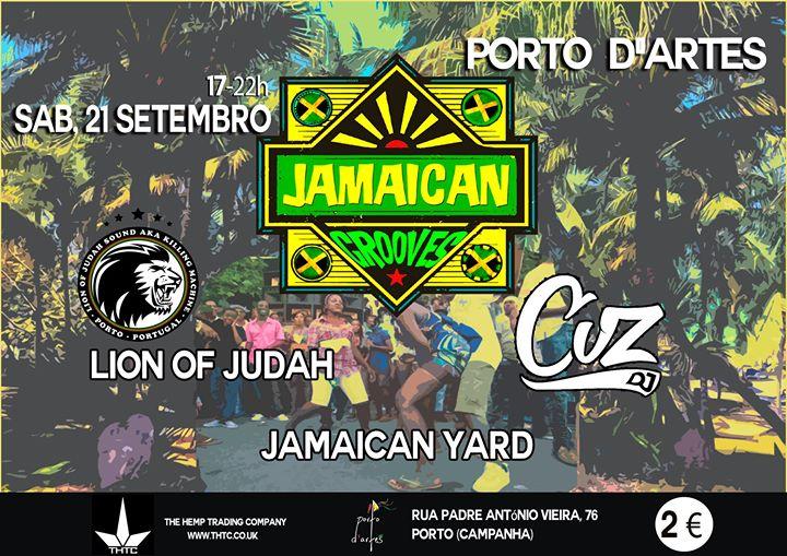 Jamaican Grooves(sunset edt)*Sab 21 Set*Porto D'artes