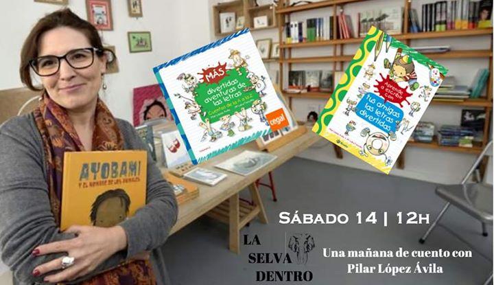 Una Mañana De Cuento Con Pilar López Ávila