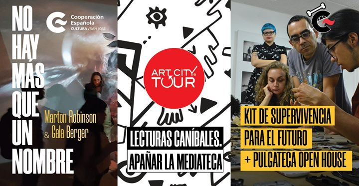 El Farolito y Casa Caníbal en el Art City Tour
