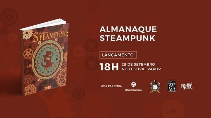 Almanaque Steampunk 2019 - Lançamento