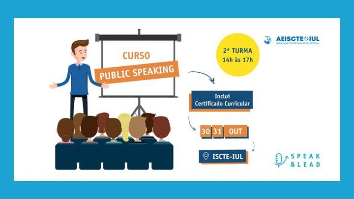 Curso Public Speaking - ISCTE