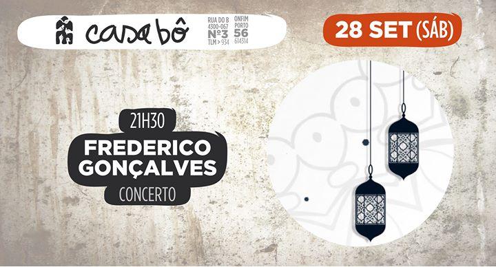 Concerto: Frederico Gonçalves