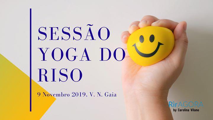 Sessão Yoga Do Riso por Carolina Vilano