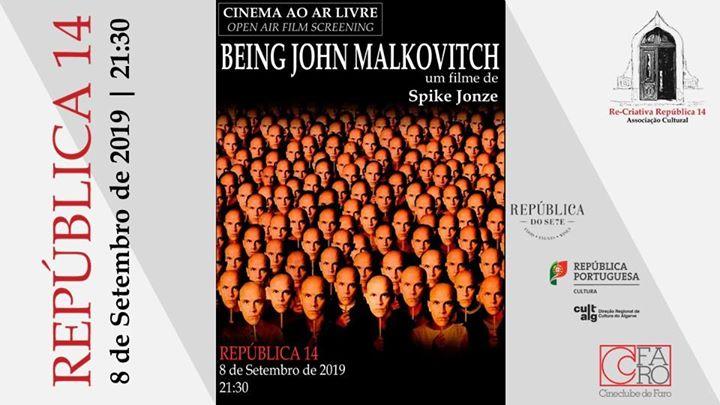 Há Cinema na República - Being John Malkovich de Spike Jonze
