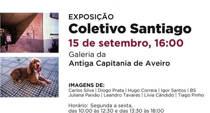 Visita Guiada - Exposição Coletivo Santiago