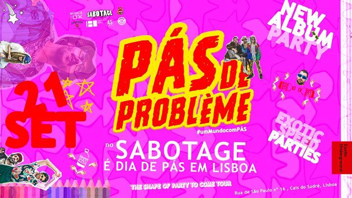 """Pás de Problème apresentam """"The Shape of Party to Come'"""