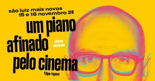 Um piano afinado pelo cinema, de Filipe Raposo
