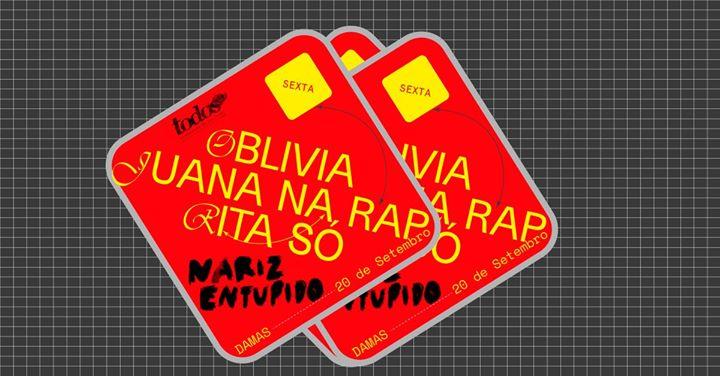 Festival Todos: Oblivia, Juana na Rap, Rita Só