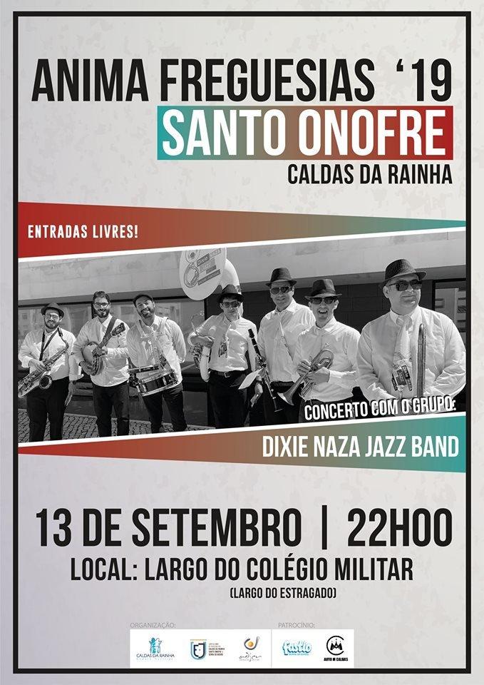 Anima Freguesias Santo Onofre | Concerto 'Dixie Naza Jazz Band'