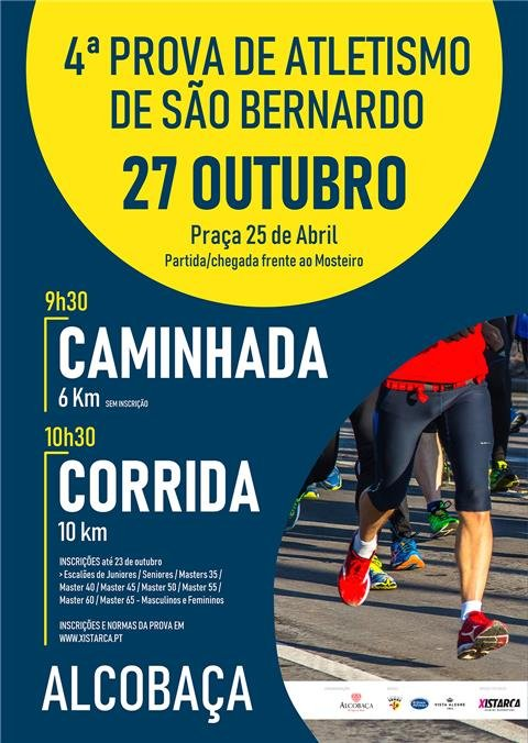 desporto :: 4ª Prova de Atletismo de São Bernardo