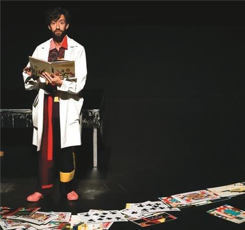 manobras :: Espetáculo e oficina para público infantil:  'Os Livros do Rei'