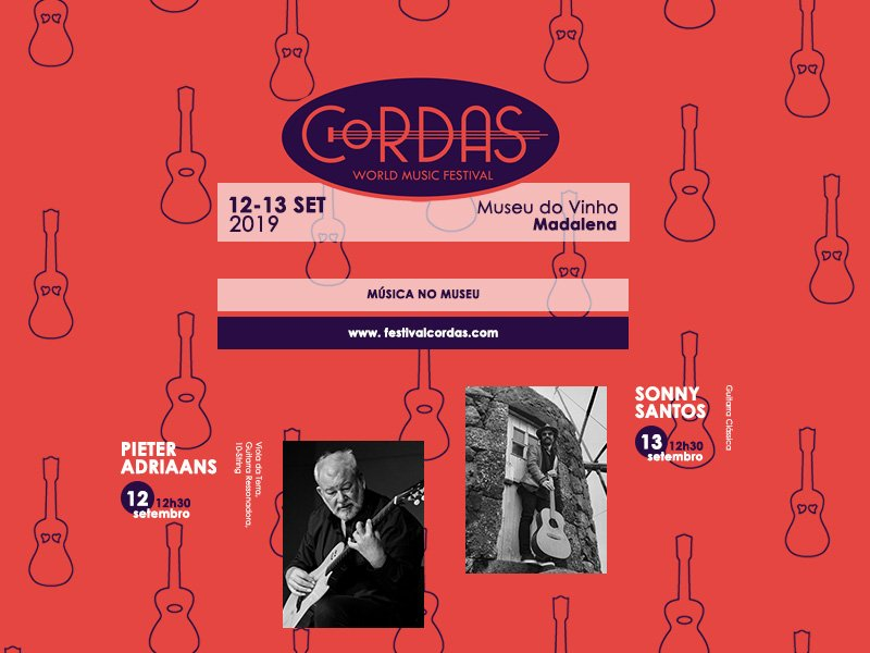 Festival Cordas no Museu do Vinho