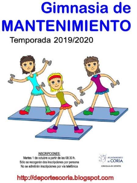 Escuela Municipal de GImnasia de Mantenimiento