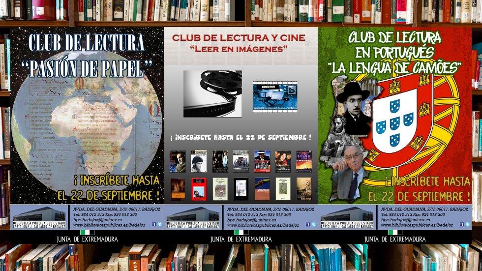 Clubes de lectura de la Biblioteca Pública de Badajoz
