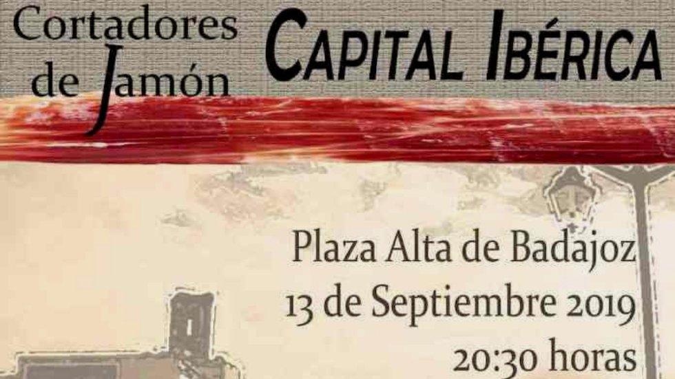 V Concurso de Cortadores y Cortadoras de Jamón \'Badajoz, Capital Ibérica\'