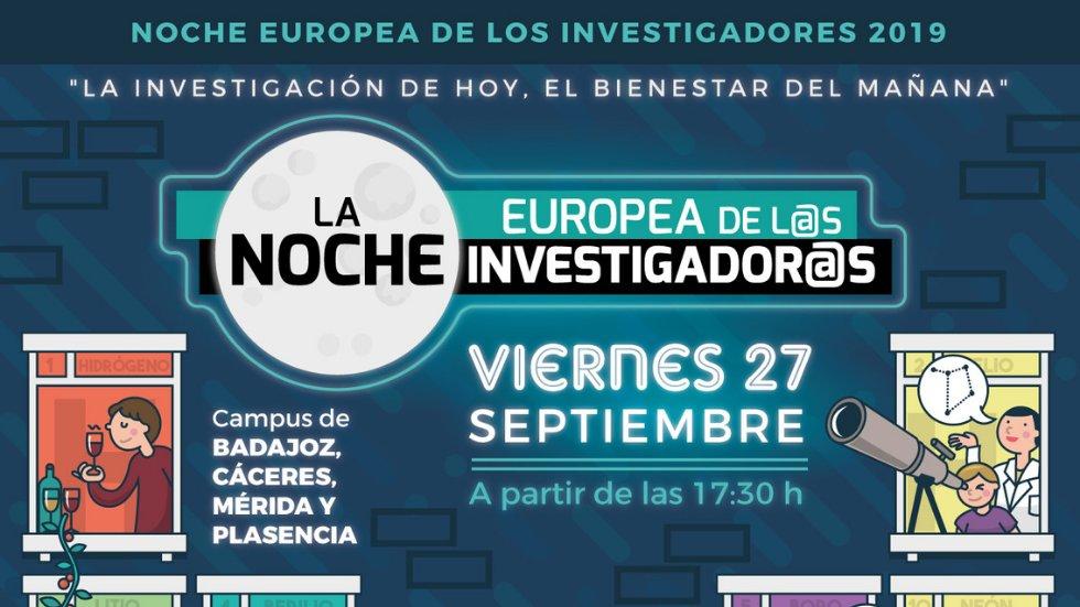 Noche Europea de los Investigadores en la UEx