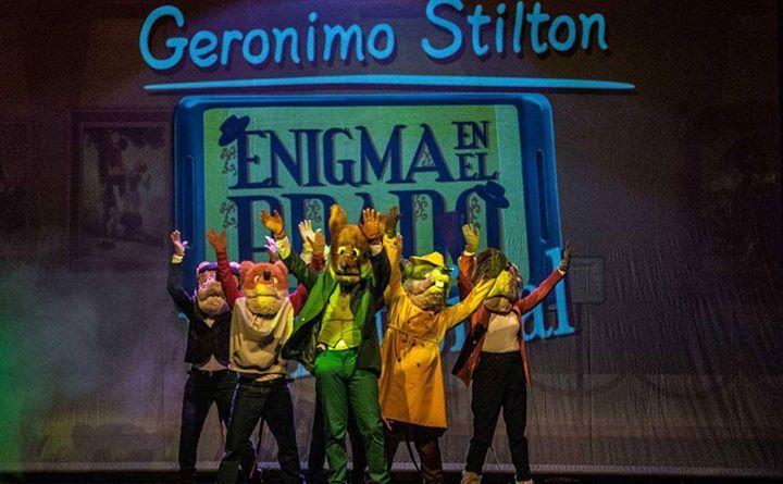Gerónimo Stilton. Enigma en el Prado. El musical