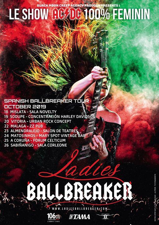 Ladies Ballbreaker Tributo Ac/Dc Feminino