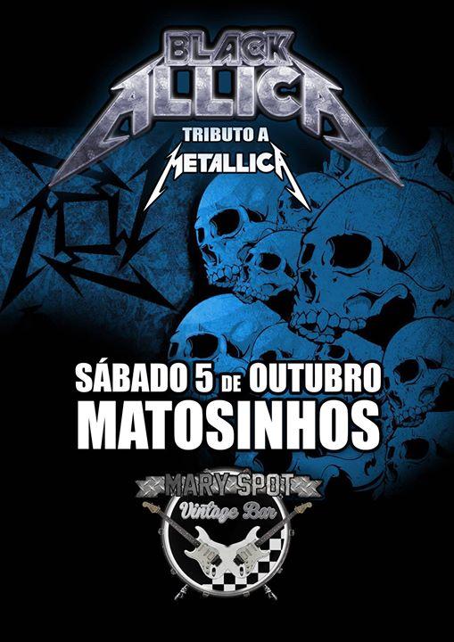 Blackallica tributo a Metallica