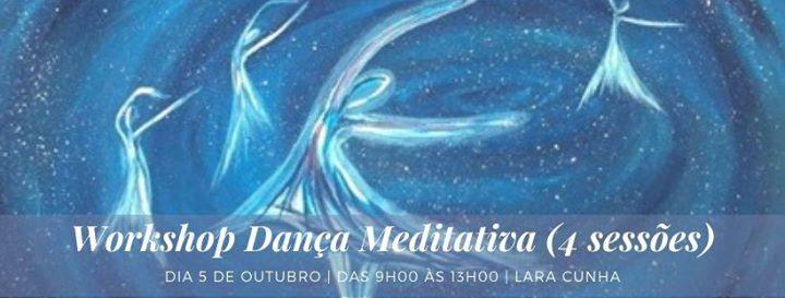 Workshop Dança Meditativa (4 sessões)