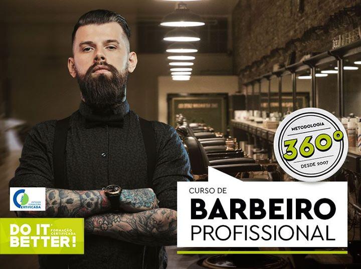 Curso de Barbeiro Profissional (Pós Laboral)