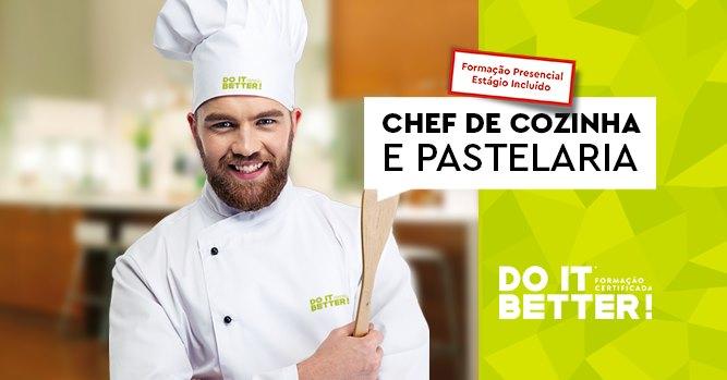 Chef de Cozinha e Pastelaria - Confirmada