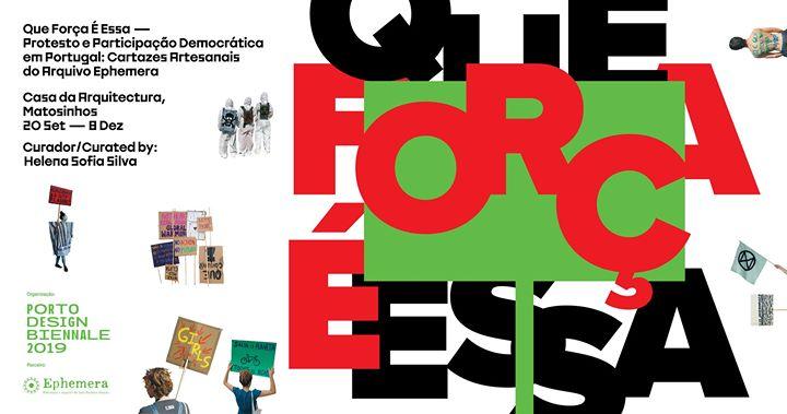 Que Força é Essa | exposição / exhibition