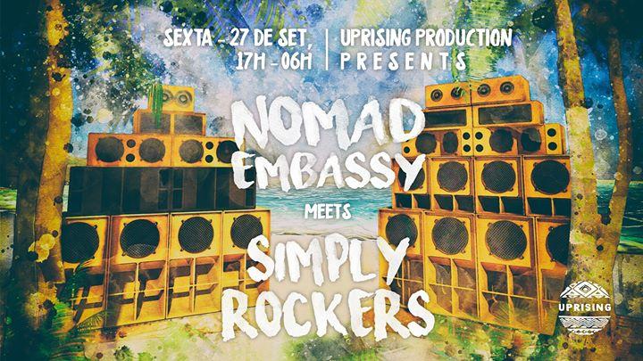 Dub N Beach - Nomad Embassy meets Simply Rockers