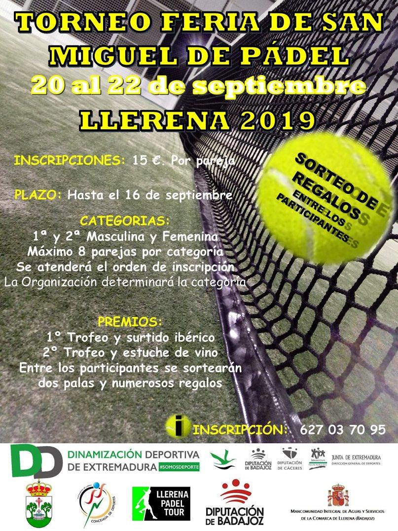 Torneo de Pádel Feria de San  Miguel