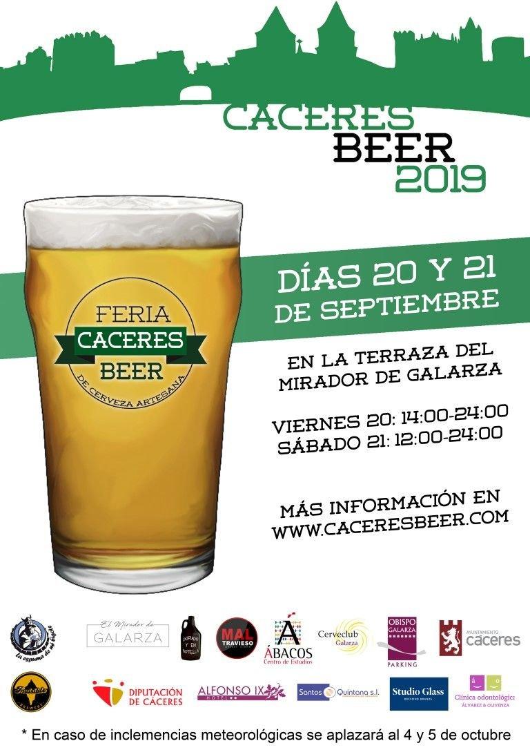 Cáceres Beer 2019
