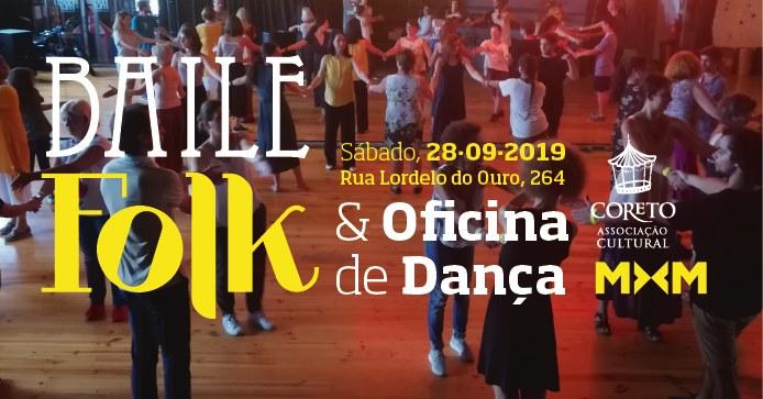 Baile Folk e Oficina de Dança Folk