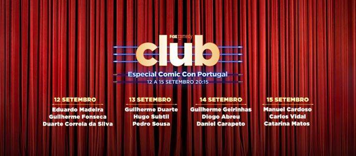 FOX Comedy Club | Comic Con Portugal 2019