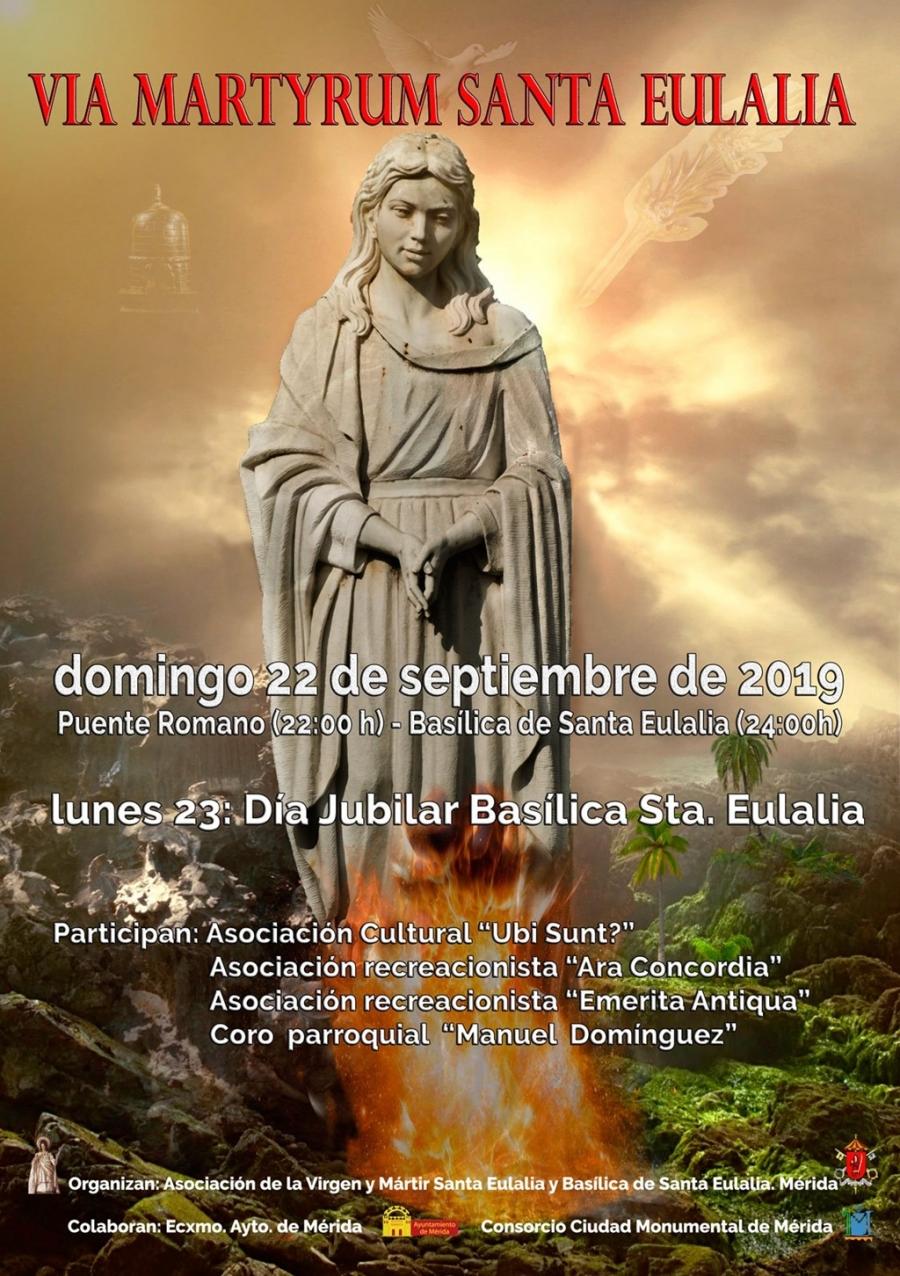 Via Mártyrum Santa Eulalia