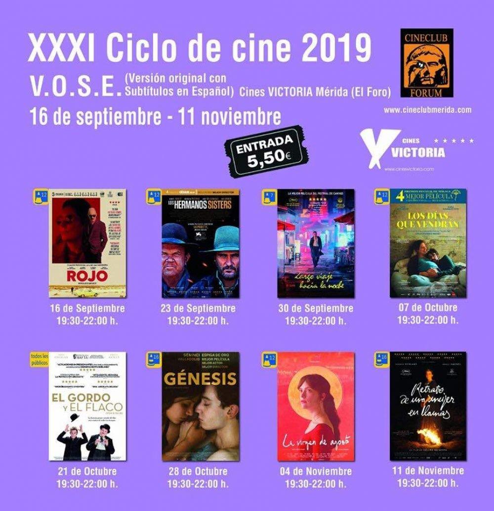 XXXI CICLO DE CINE VOSE