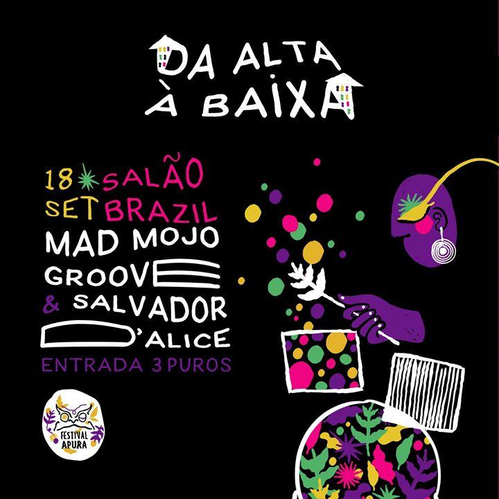 Warm-up Festival Apura com Mad Mojo Groove e Salvador D'Alice