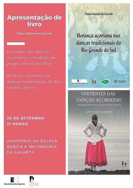 """Apresentação dos livros: """"Herança Açoriana nas Danças Tradicionais do Rio Grande do Sul"""" e """"Vertentes das Danças Açorianas"""""""