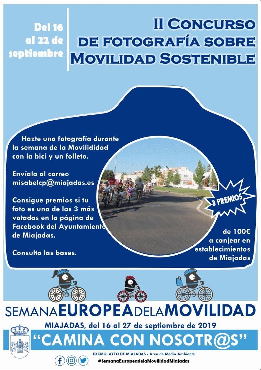 II Concurso de Fotografía sobre Movilidad Sostenible