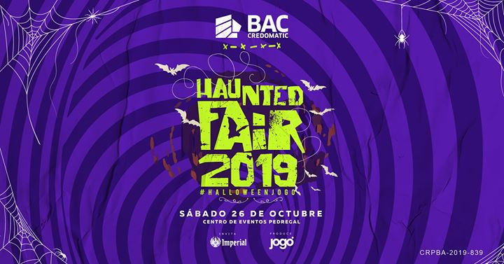 Haunted Fair 2019 - Evento Oficial