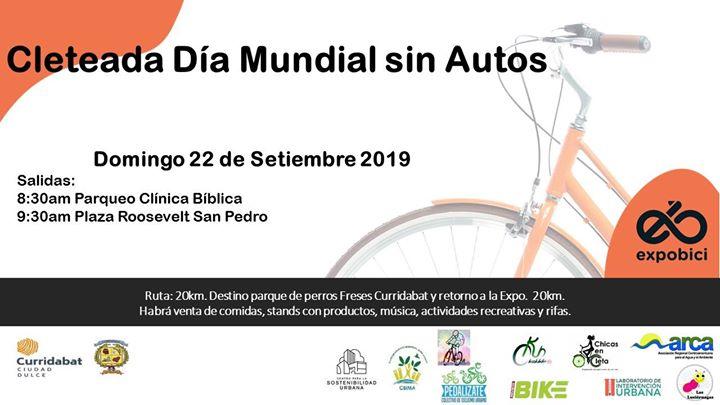 Cleteada Día Mundial sin autos