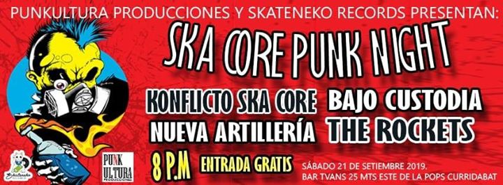 Ska Core & Punk Night