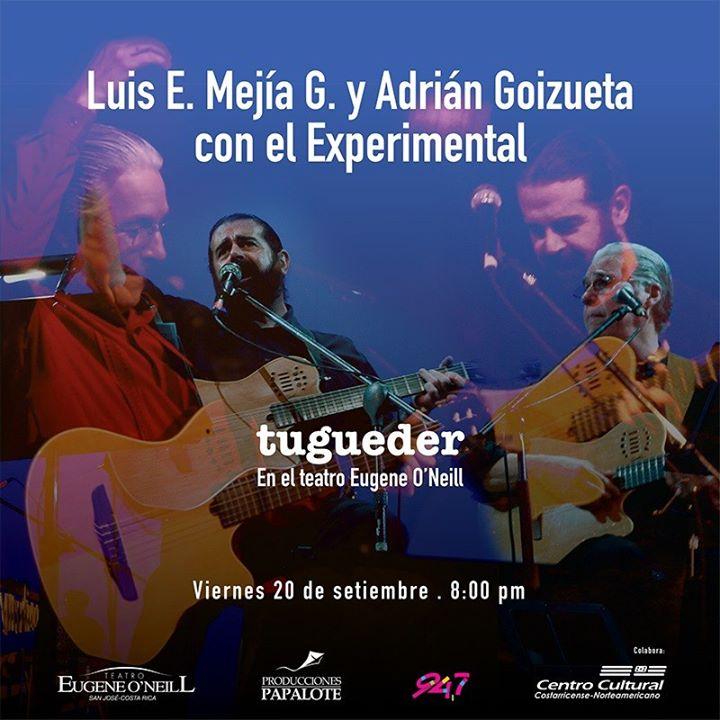 Luis Enrique Mejía Godoy, Adrian Goizueta y el Experimental.