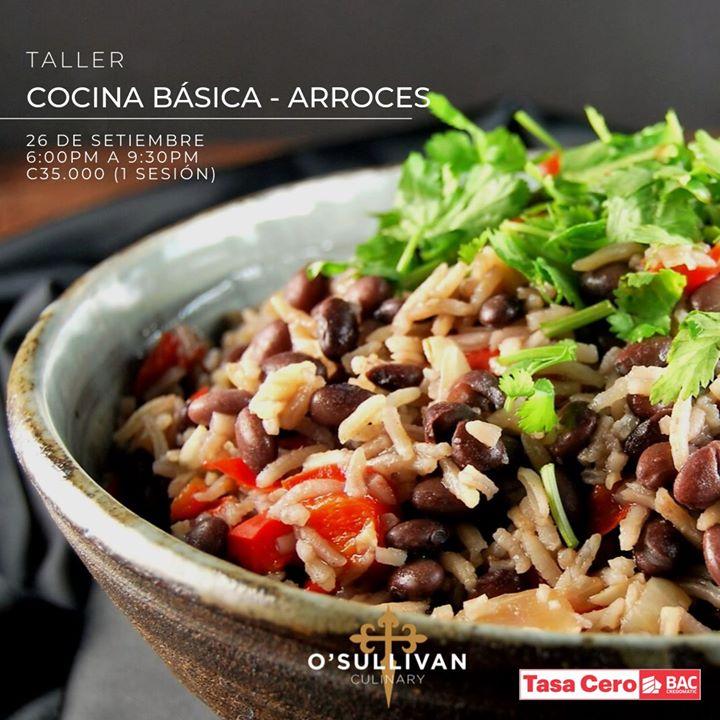 Cocina Básica - Arroces