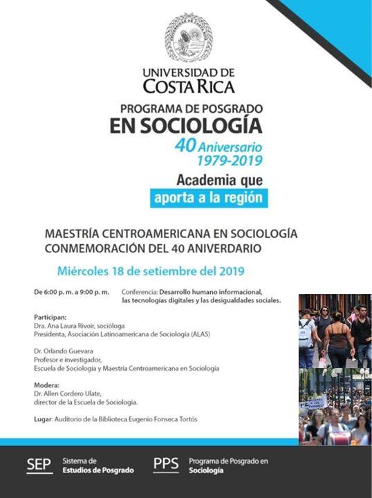 Conferencia: Desarrollo Humano informacional.