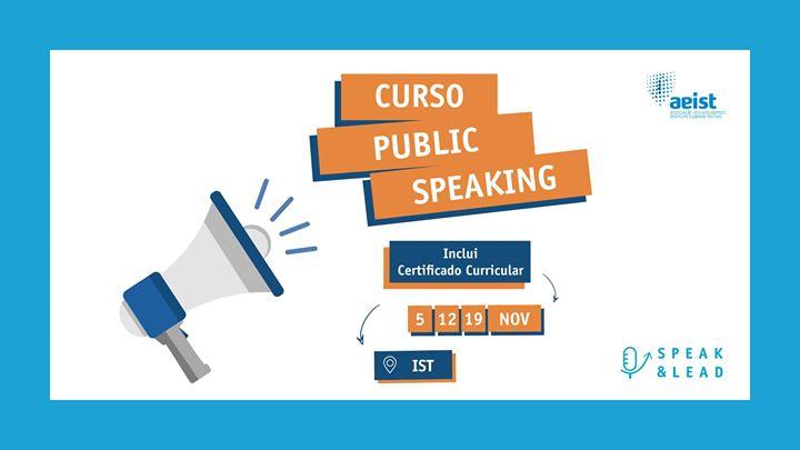 Curso Public Speaking - IST