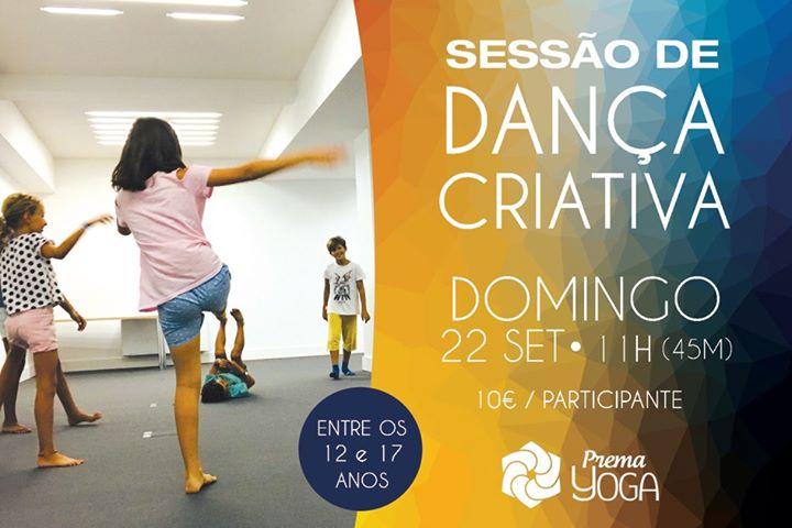 Dança Criativa para Crianças e Adolescentes