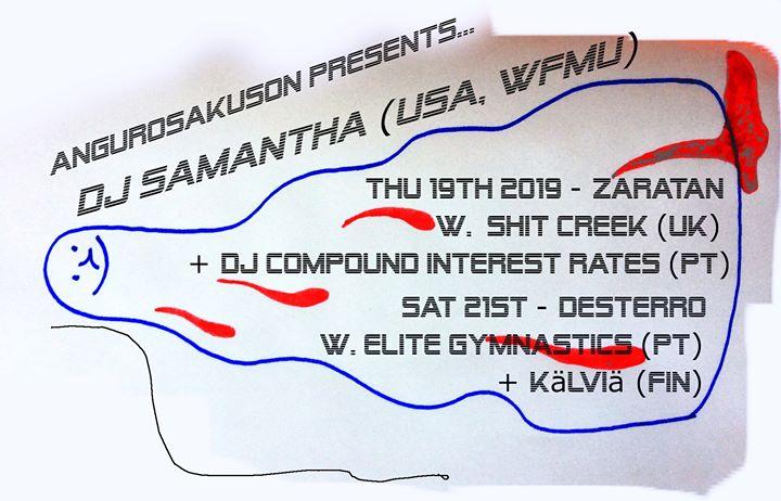 DJ Samantha / Elite Gymnastics / Kälviä