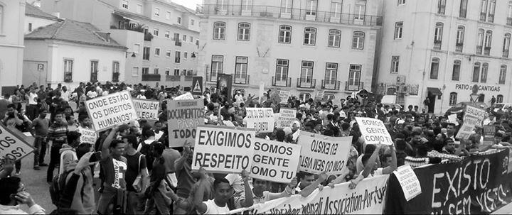 Concentração pelos Direitos dos e das Migrantes em Portugal