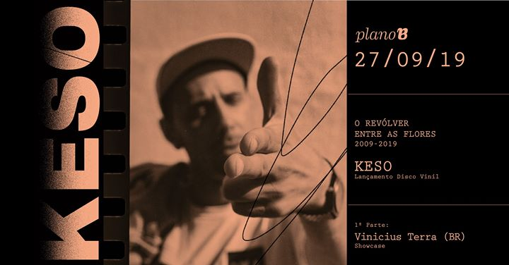 KESO - Lançamento do disco 'o revólver entre as flores'