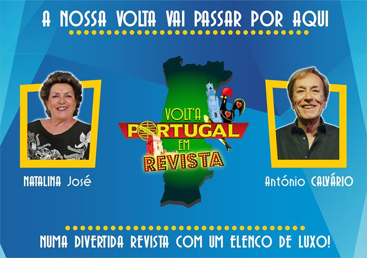 Teatro de Revista - Volt'a Portugal em Revista